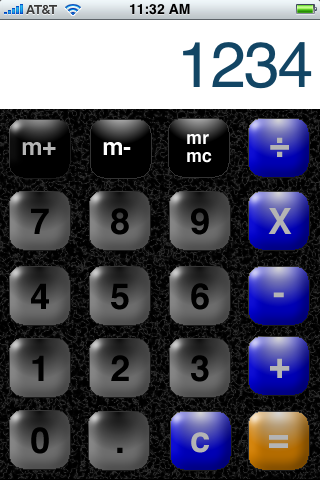 iPhCalc Screenshot